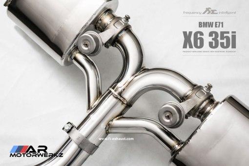 e71, x6, fi exhaust, n55, 35i