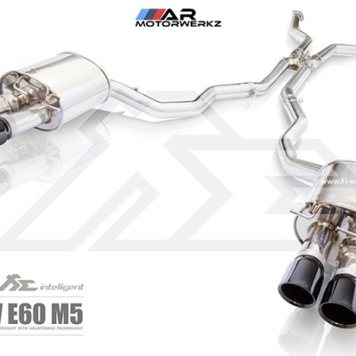 fi valvetonic exhaust bmw e60 m5