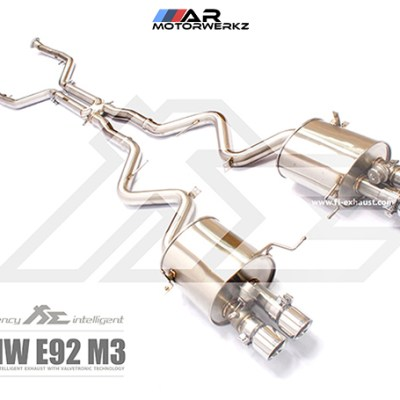 fi valvetronic exhaust bmw e9x m3