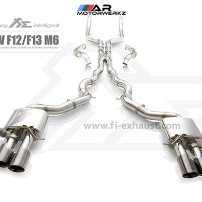 fi valvetronic exhaust bmw f12 f13 m6