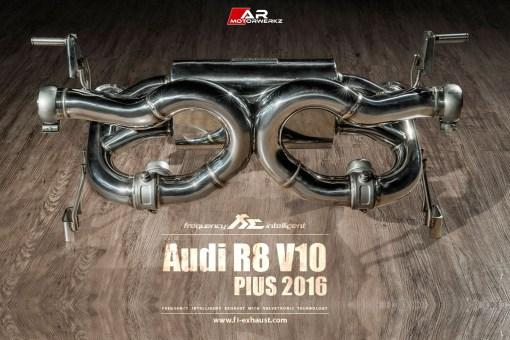 Audi R8 Fi Exhaust