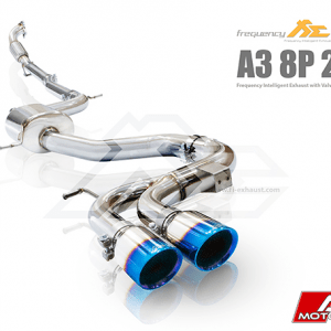 AUDI 8P 8V A3 FI EXHAUST VALVED AFTERMARKET EXHAUST REMOTE CONTROL