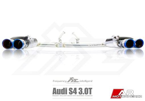 AUDI B8 S4 FI EXHAUST AUDI B8 S4 FI EXHAUST VALVED VALVTRONIC