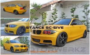 stance sc-5ive bmw 1 series
