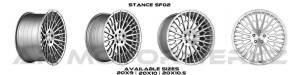 stance sf02 brush face silver