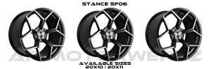 Stance SF06 GLOSS BLACK TINT FACE