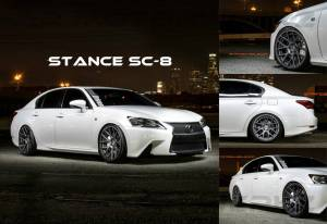 stance sc-8 lexus gs 350