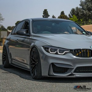 BMW M3 on ZITO ZF01