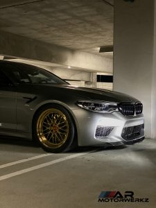 BMW M5 - BBS LM Gold Plated