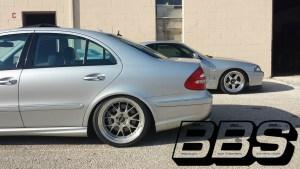 Mercedes E Class - BBS LM-R
