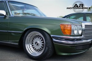 Mercedes W116 on BBS RS 16'