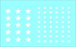 Balck Lion Decals 1/7nd Allied White Star