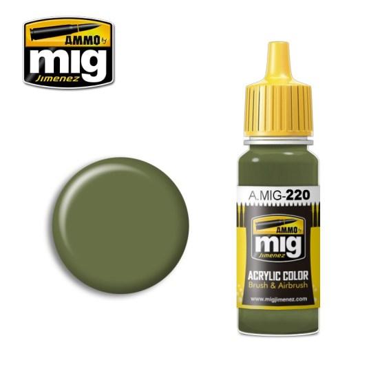 FS 34151 Zinc Chromate Green (Interiour Green)