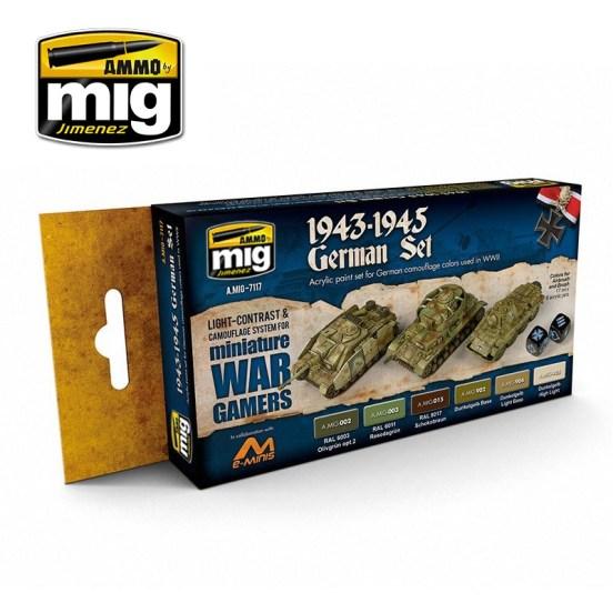 Wargame 1943-1945 German Set