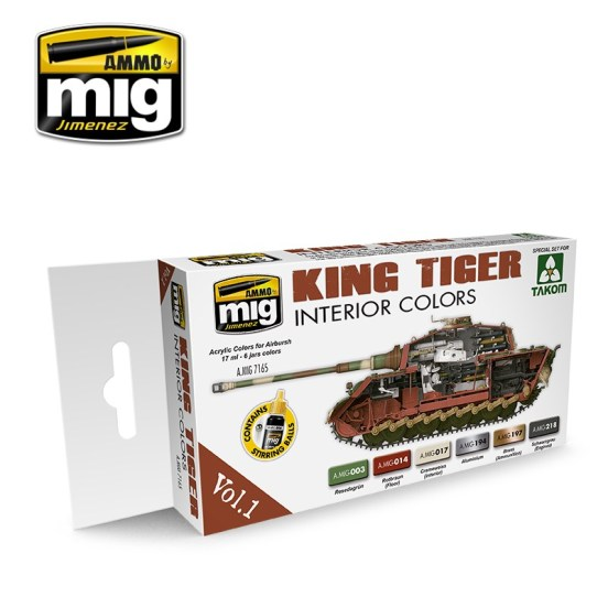King Tiger Interior Colour