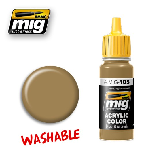 Washable Dust (RAL 8000)