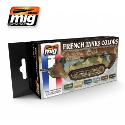 WW1 & WW2 French Camouflage Colours