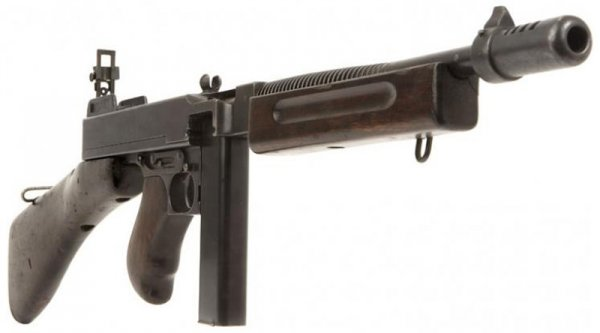 Tommy's weapon  Thompson submachine gun - history and