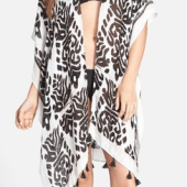 17. Nordstrom 'Fringed Cover Up' $32