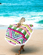 21. The Round Towel Co 'The Tropicana Towel' $70