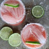29. Salted Watermelon Margaritas