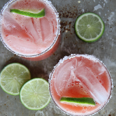 29. Salted Watermelon Margaritas