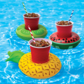 3. BigMouth Inc. 'Inflatable Tropical Coasters' QTY 3 - $10.99 HERE
