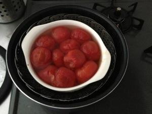 トマトのシロップ煮