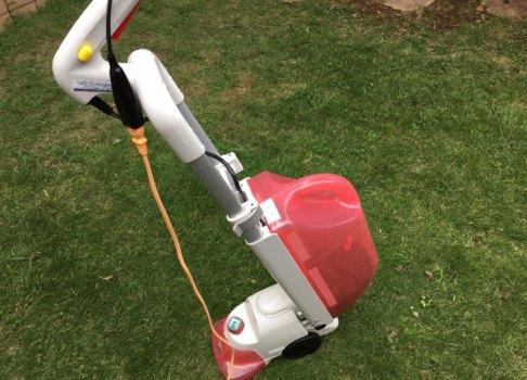 枝豆&電動芝刈り機
