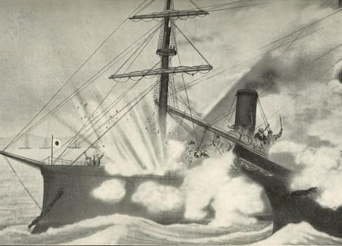 宮古湾海戦 ストーンウォール号と回天丸