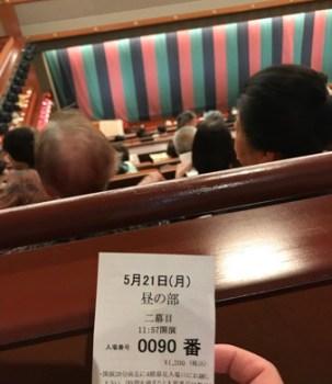 歌舞伎『雷神不動北山櫻』二幕目
