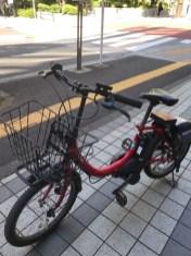 この自転車をかりました