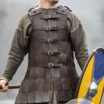 Fantasy Viking Leather Armor Olegg The Mercenary For Sale Available In Brown Leather Black Leather Milk White Leather By Medieval Store Armstreet