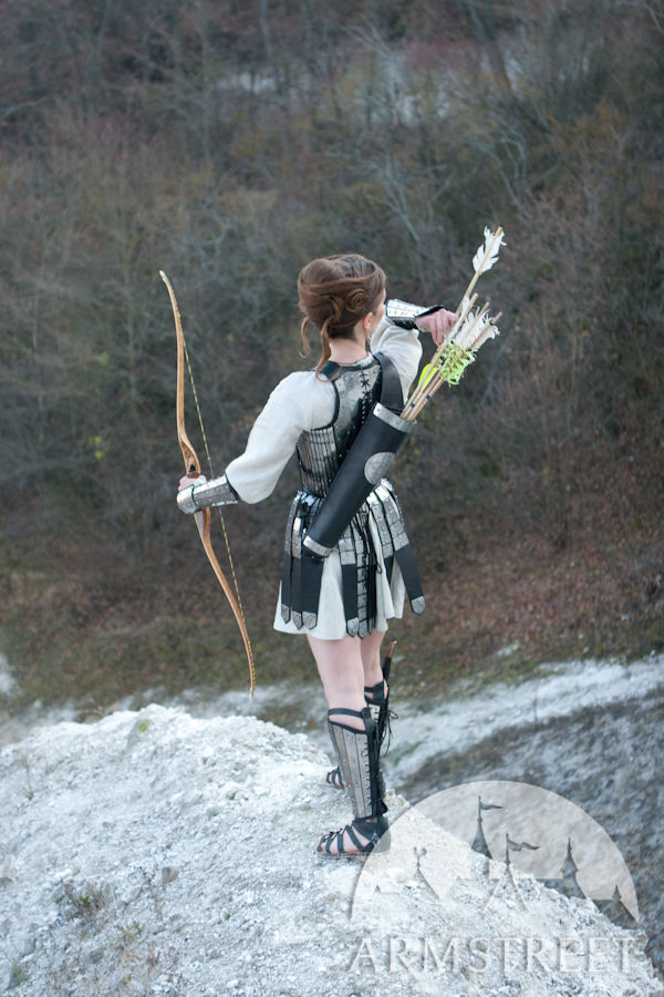 Great Handmade Functional Archer Bowman Quiver With