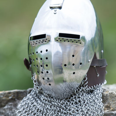 Medieval Helmet Bascinet Of German Origin Xiv Available