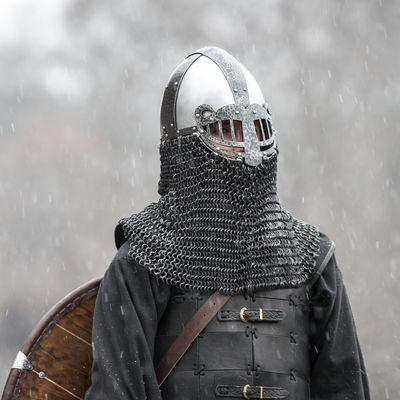 Viking Style Helmet Ragnvaldur The Traveller For Sale
