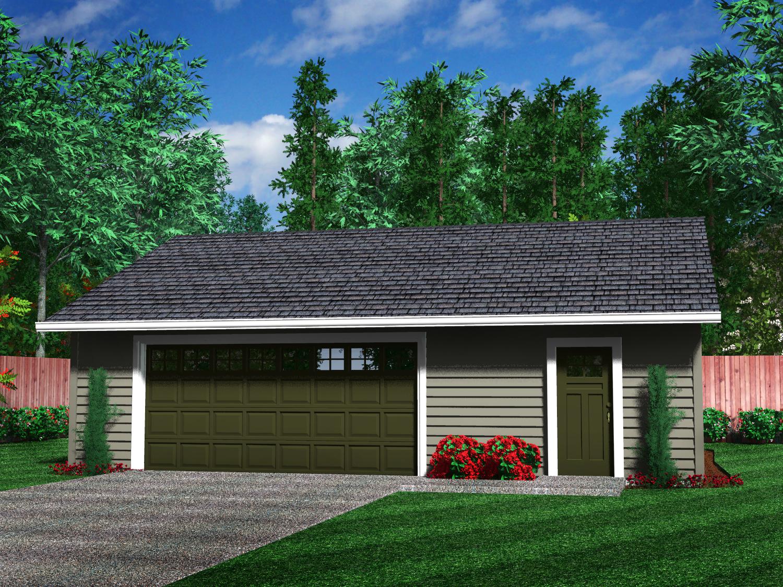 Detached Garage Floor Plans Free