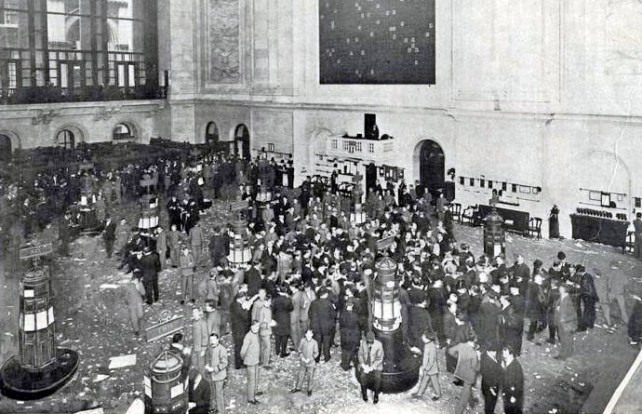 1914 NY stock exchange closed