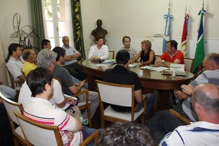 Cañada de Gómez. Autoridades municipales se reunieron con industriales.