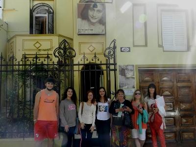 Seminario de reflexión y formación en el Centro Ana Frank Argentina.