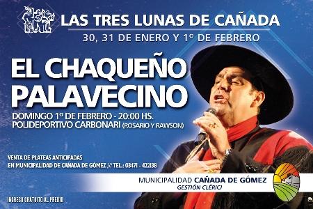 Cañada de Gómez confirmó al Chaqueño Palavecino para el cierre de las Tres Lunas.