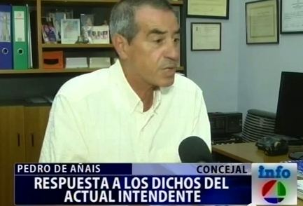 De Añais: «Ramos es la continuidad del gobierno de Carletti».