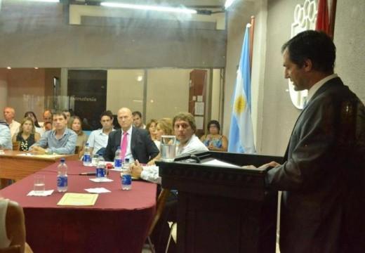 Verdecchia inauguró el periodo ordinario del Concejo Deliberante.