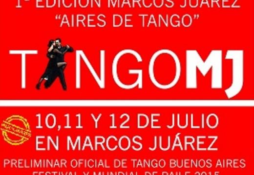 Marcos Juarez. Se viene «»Aires de Tango»».