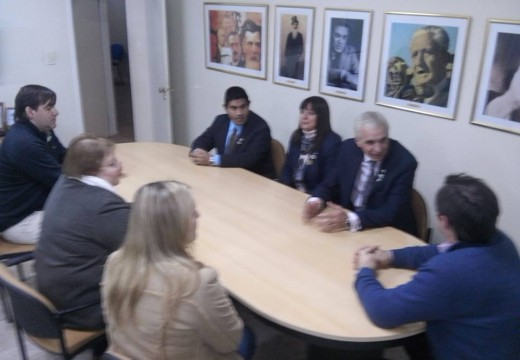 Armstrong. Visita oficial del Gobernador del Distrito 4945 de Rotary Pedro Zanini.