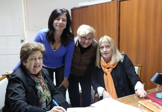 Cañada de Gómez. El municipio suscribió convenio en beneficio del Hogar de la Niña.