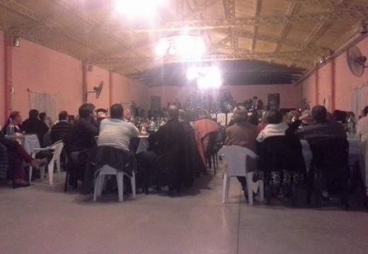 Armstrong. Cena de la Banda Municipal Septiembre 2015.