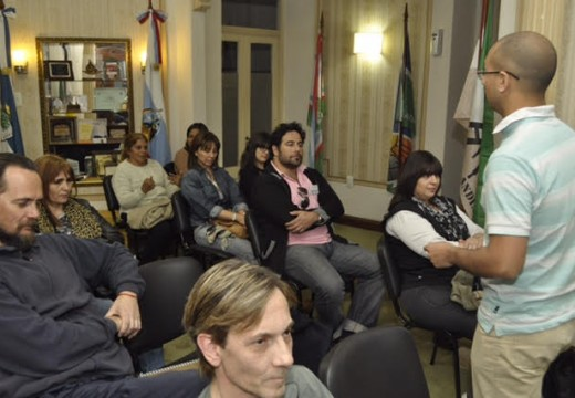 Cañada de Gómez. Comenzó el Curso de Motivación en la Casa del Senado.