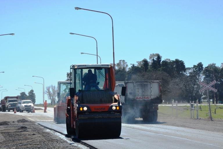 RN 178 - Pavimentación travesía urbana Las Rosas - 21-9-17