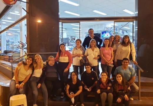 Rotary Club Armstrong junto a SAMCo local cerraron el mes de la mujer concientizando.